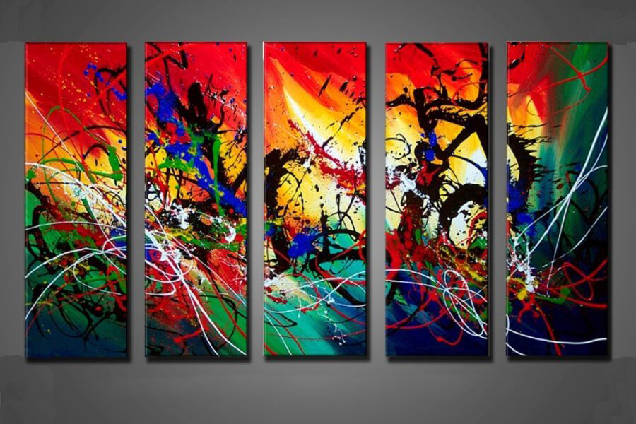 abstrakt-gruppemaleri-beautiful-colours